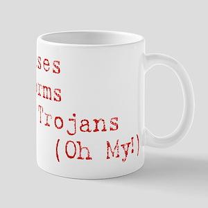 Viruses, Worms and Trojans, O Mug
