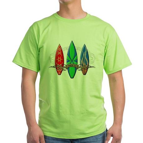 Surf It Green T-Shirt