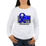 Cure For Colon Cancer Women's Long Sleeve T-Shirt