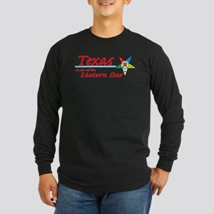 Texas Eastern Star Long Sleeve Dark T-Shirt