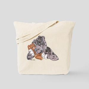 NMrl Teddy Hug Tote Bag