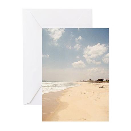 Hamptons beach Greeting Cards (Pk of 10)