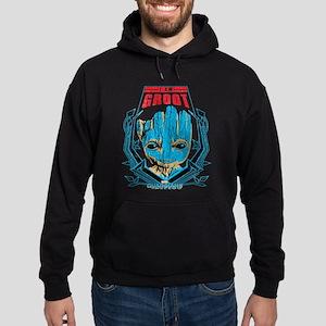 GOTG Groot Smile Hoodie (dark)