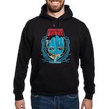Groot Dark Hoodies