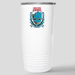 GOTG Groot Smile Stainless Steel Travel Mug