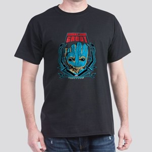 GOTG Groot Smile Dark T-Shirt