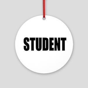 Student Keepsake (Round)