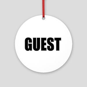 Guest Keepsake (Round)