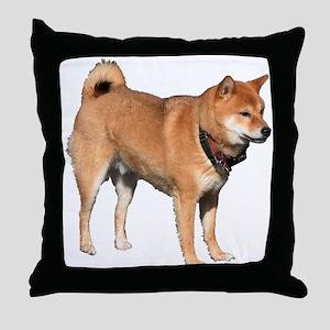 Helaine's Shiba Inu 2 Throw Pillow