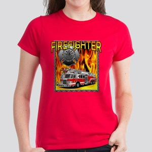 LADDER TRUCK Women's Dark T-Shirt