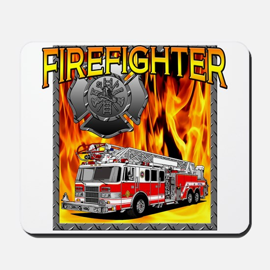 LADDER TRUCK Mousepad