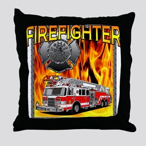LADDER TRUCK Throw Pillow