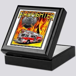 LADDER TRUCK Keepsake Box