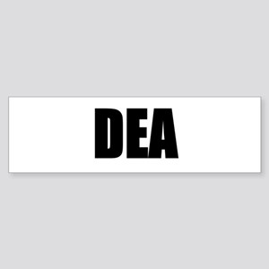 DEA Bumper Sticker