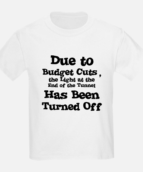 Light at the End of the Tunne Kids T-Shirt
