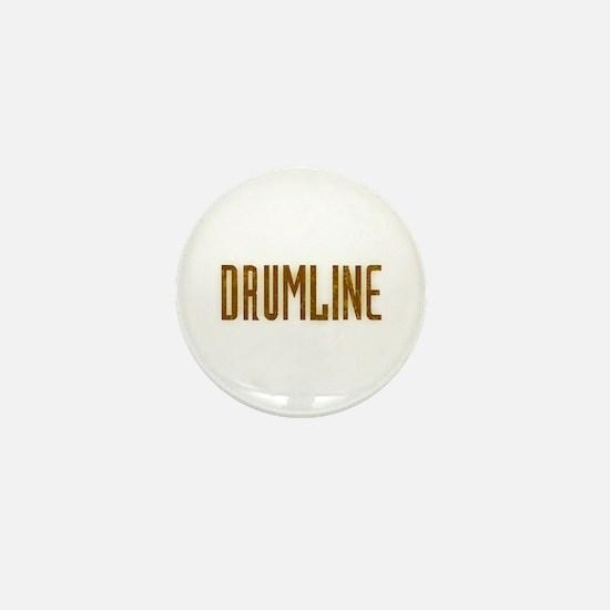 Drumline Brown Mini Button