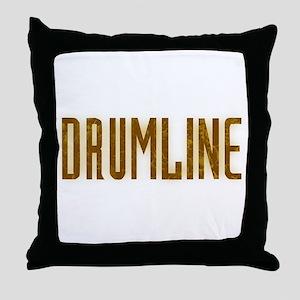 Drumline Brown Throw Pillow