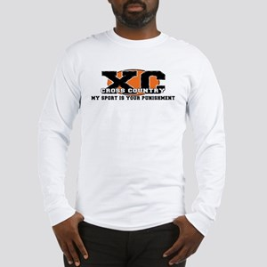 Cross Country Your Punishment Long Sleeve T-Shirt