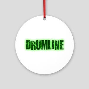 Drumline Green Ornament (Round)