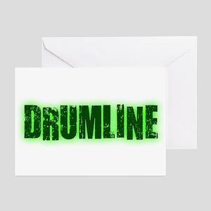 Drumline Green Greeting Cards (Pk of 10)