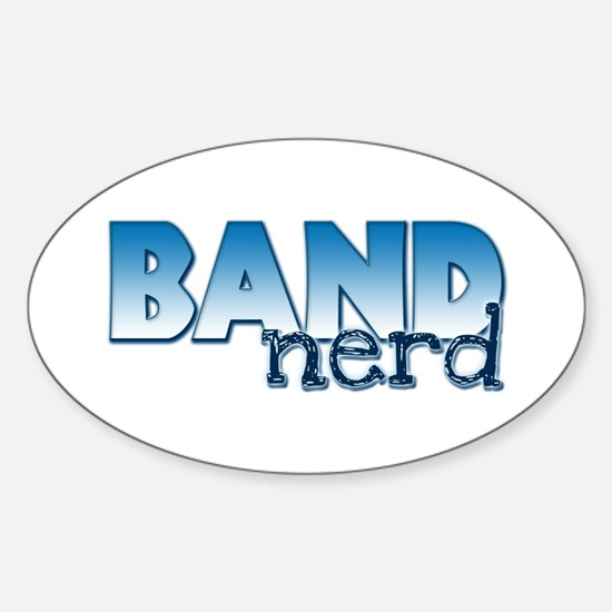 Band Nerd Oval Decal