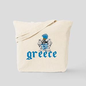 Greece Shield Tote Bag