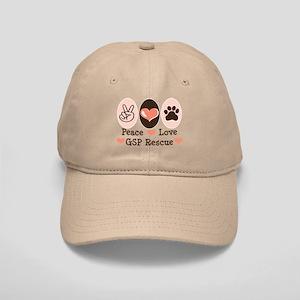 Peace Love GSP Rescue Cap