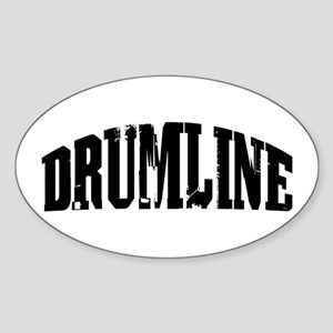 Drumline Oval Sticker