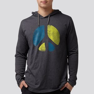 Vintage Peace Sign Long Sleeve T-Shirt