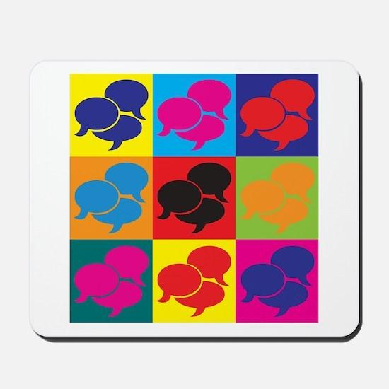 Languages Pop Art Mousepad