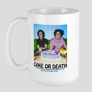 Cake or Death Large Mug