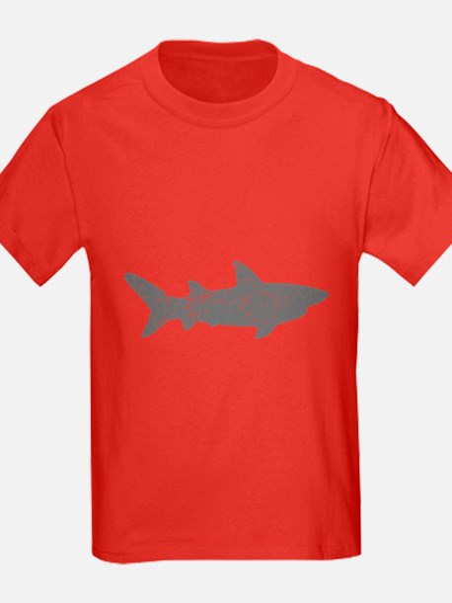 Shark! Kids Red T-Shirt