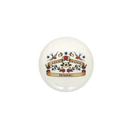 Live Love Magic Mini Button (10 pack)