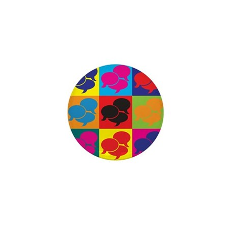 Interpreting Pop Art Mini Button (100 pack)