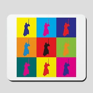 Iaido Pop Art Mousepad