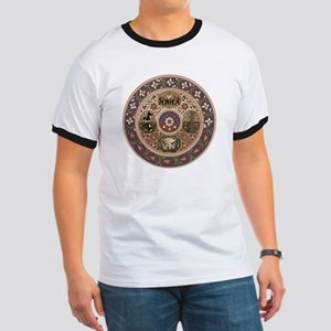 Wheel of Life Ringer T