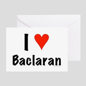 I love Baclaran Greeting Card