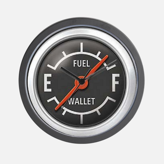 Gas Gauge Wall Clock