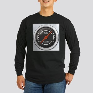Gas Gauge Long Sleeve Dark T-Shirt