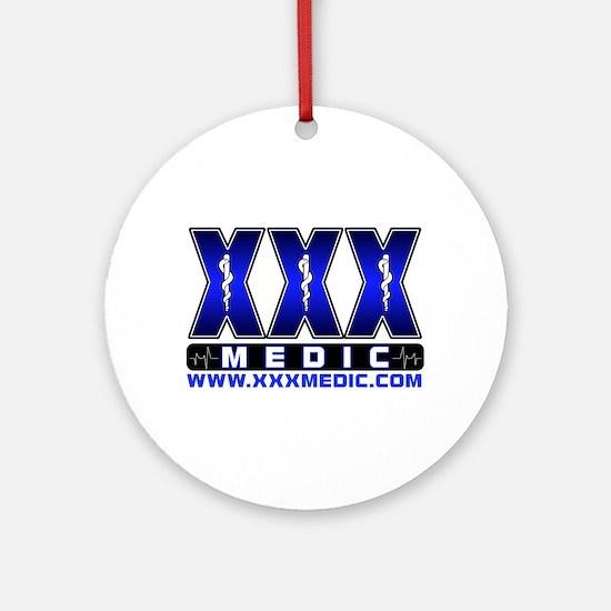 XMedicX Paramedic Ornament (Round)