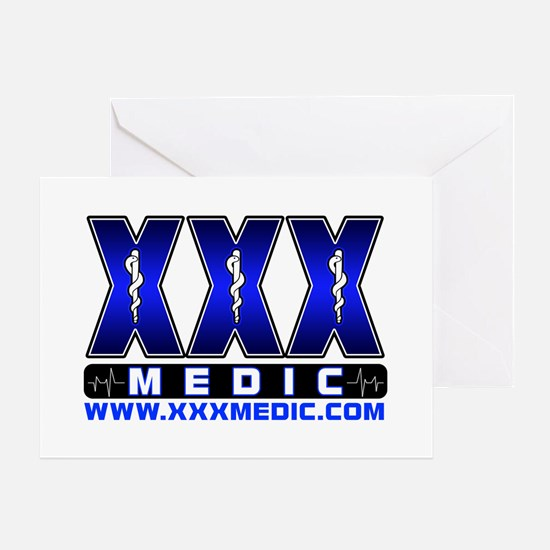 XMedicX Paramedic Greeting Card