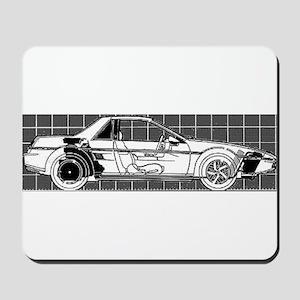 Pontiac Fiero Mousepad