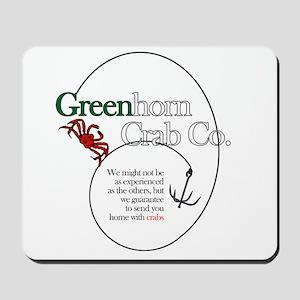Greenhorn Crab Co. Mousepad