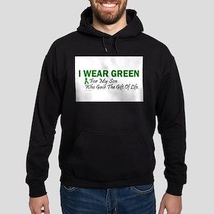 Green For Son Organ Donor Donation Sweatshirt