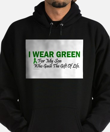 Green For Son Organ Donor Donation Sweatshirt