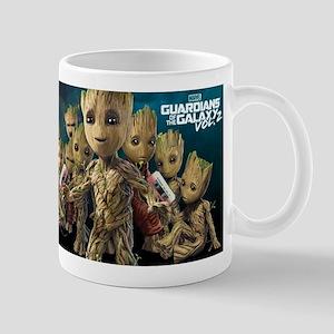GOTG Groot Faces Mug