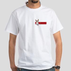 Stubborn Mule White T-Shirt