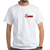 Bars Mens Classic White T-Shirts