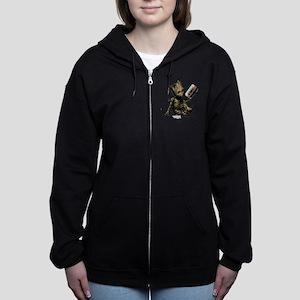 GOTG Groot Cassette Women's Zip Hoodie