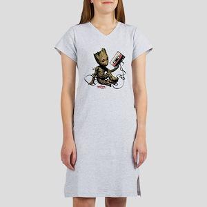 GOTG Groot Cassette Women's Nightshirt